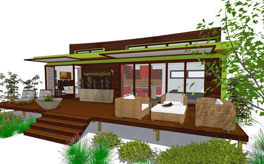 Casa de un dormitorio y 45 metros cuadrados planos de for Casa moderna 80 metros cuadrados