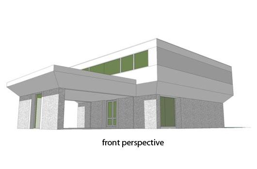 Moderna casa de dos pisos cuatro dormitorios y 316 metros for Casa moderna 5 dormitorios