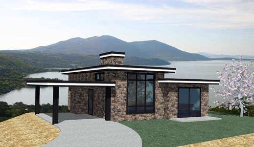 Casa de piedra de dos dormitorios y 100 metros cuadrados for Casas con planos y fotos
