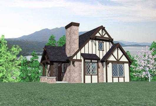 Casa de campo de dos dormitorios y 151 metros cuadrados