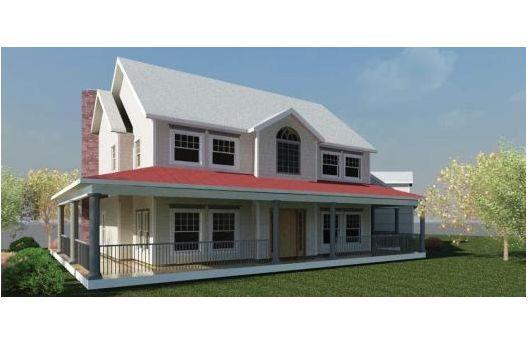 Casa de tres dormitorios, dos pisos y 238 metros cuadrados