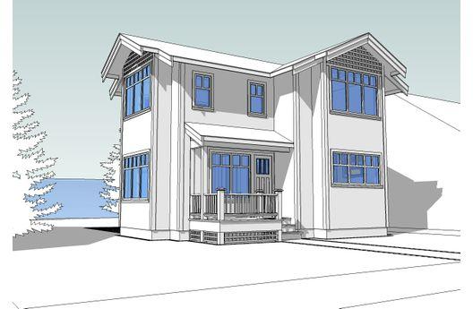 Casa de dos pisos tres dormitorios y 102 metros cuadrados for Dormitorio 6 metros cuadrados