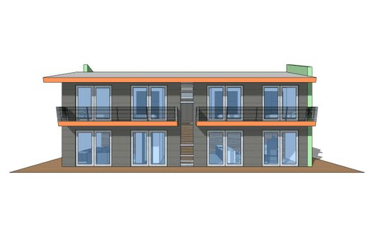 Casa moderna de cuatro dormitorios y 255 metros cuadrados