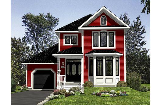 Hermosa casa de dos plantas tres dormitorios y 140 metros - Casas de dos plantas sencillas ...