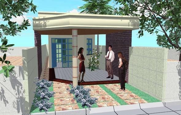 Casa angosta de un piso tres dormitorios y 111 metros for Casa minimalista de 40 metros cuadrados
