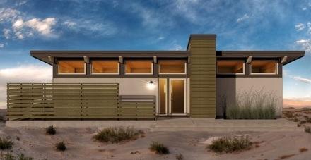 Peque a casa moderna de un dormitorio y 62 metros for Casa moderna de 80 metros cuadrados
