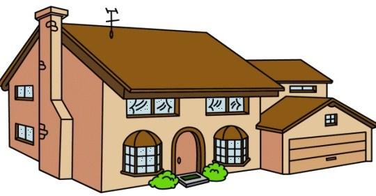 La casa de los simpsons