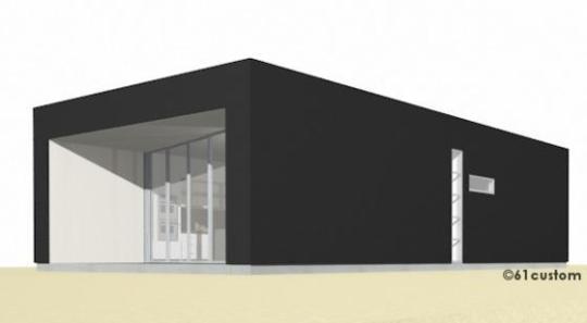 Casa moderna de una planta, un dormitorio y 94 metros cuadrados