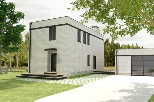 Planos con 2 habitaciones planos de casas gratis for Casa moderna 50 metros cuadrados