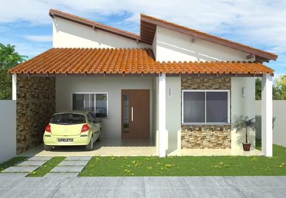plano de planta de casa de dormitorios en metros cuadrados