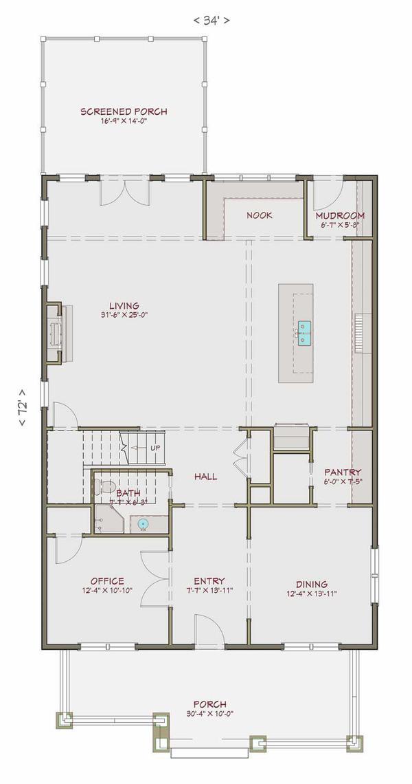 Genial casa de tres pisos 5 dormitorios y 300 metros for Diseno de casa de 300 metros cuadrados