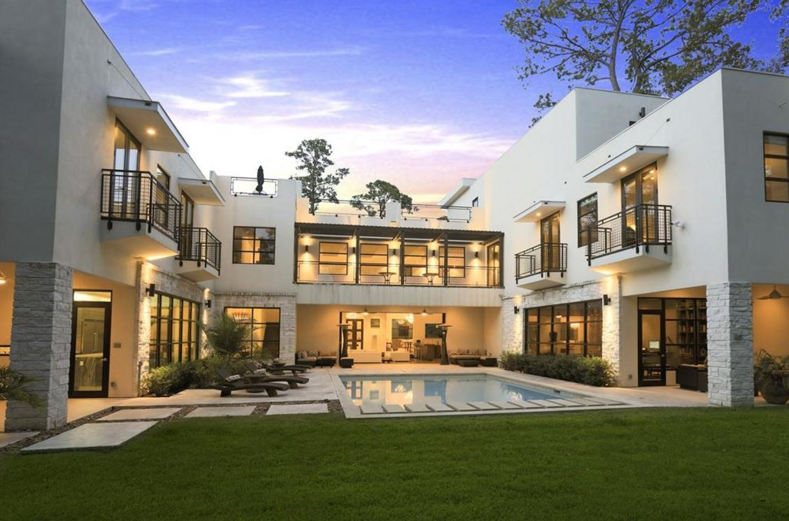 Juegos de decorar casas de dos pisos best fachada de casa for Casa moderna juegos