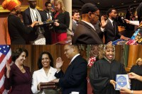 Muslims Sworn into Office on the Quran