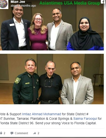 Muslim Immigrant from Pakistan running for Florida House of Representatives 2020
