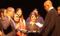 Keith Ellison sworn into office on quran