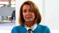 House Speaker Nancy Pelosi delivers remarks on border security in Laredo, Texas