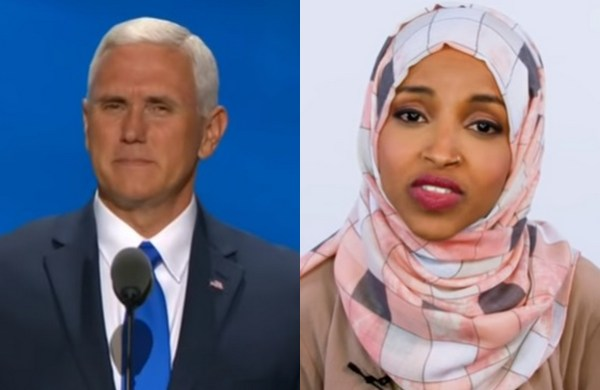 VP Mike Pence calls out Ilhan Omar