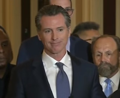 California Governor Gavin Newsom signs executive order to stop the death penalty in California