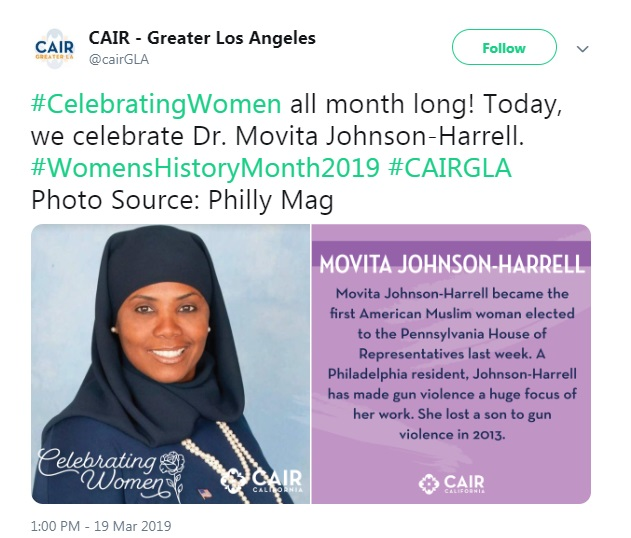 CAIR Celebrates First Muslim Woman Elected to Pennsylvania House of Representatives