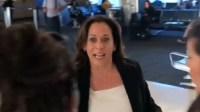 Kamala Harris Confronted