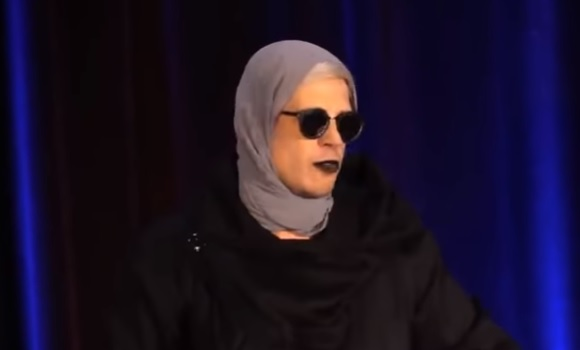 Milo Yiannopoulos does hysterical impersonation of Ilhan Omar