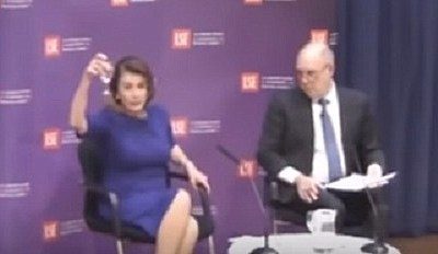 Nancy Pelosi Says a Glass of Water Could Have Won AOC's District
