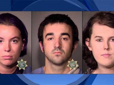 Three Antifa Members Arrested in Portland