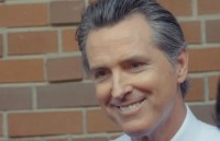 Gavin Newsom confronted about taking donations from PG&E