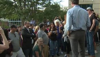 Video: Woman confronts Beto O'Rourke