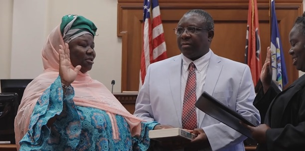 Image result for Nigerian Immigrant Takes Oath Of Office On The Quran In Tennessee