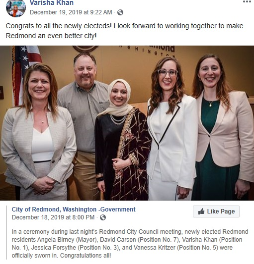 muslim elected washington