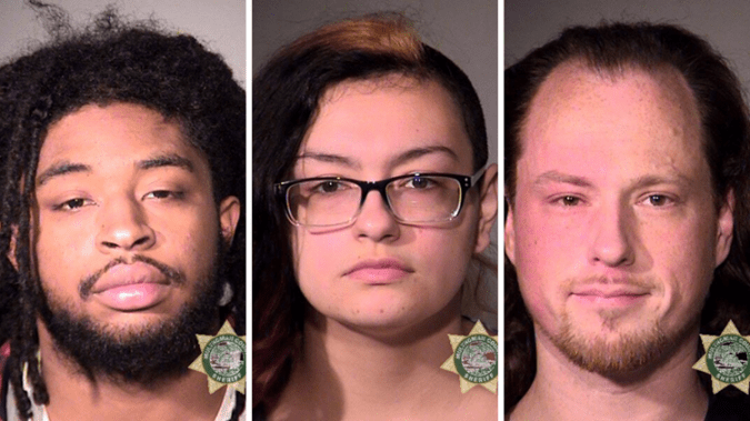 Antifa Members Arrested In Portland