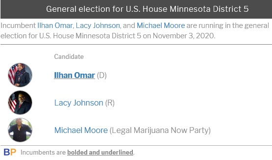 Ilhan Omar opponent