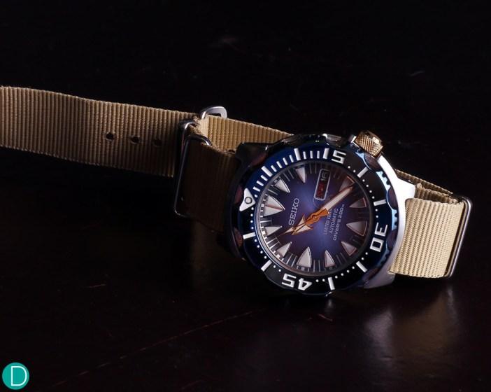 """Seiko """"Blue Monster"""", the nickname for SRP455K1"""