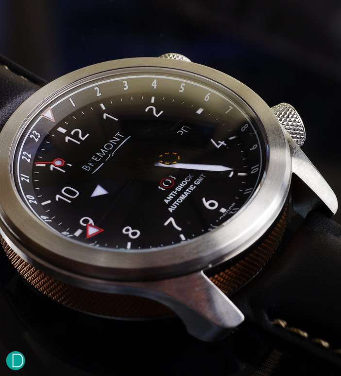 The Bremont MBIII. Many  of its design cues were derived from the aviation world.