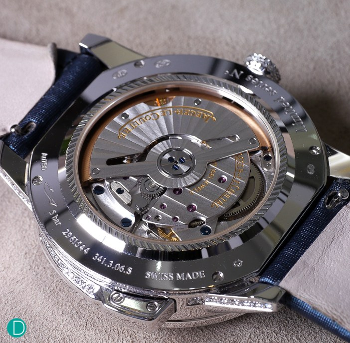 The JLC Caliber 942A. This is a new movement, specially created for this piece.