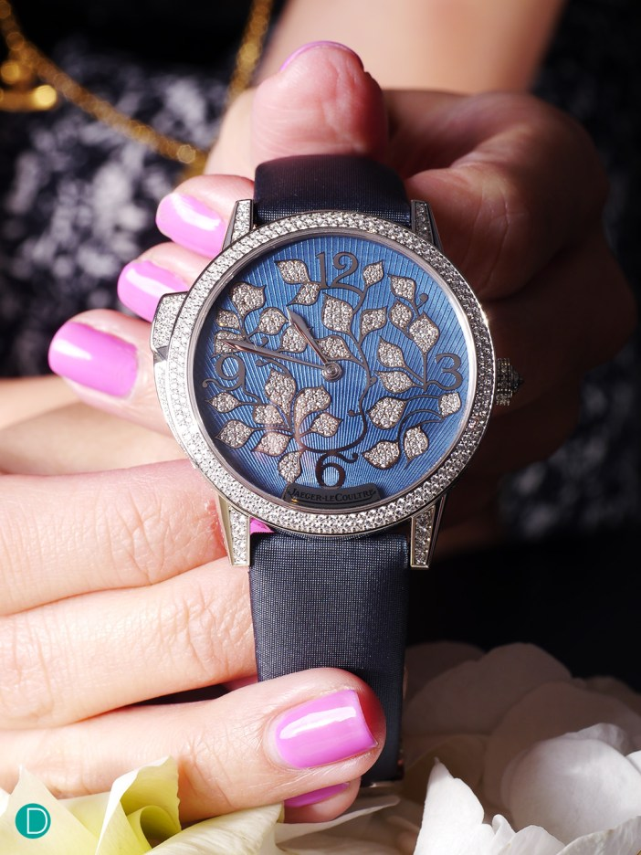 The JLC Rendez-Vouz Ivy Minute Repeater. A stunning piece to behold.