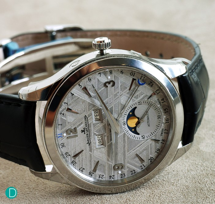 The watch actually looks really good with the meteorite dial. The fact that each dial is unique makes this watch even much more special.