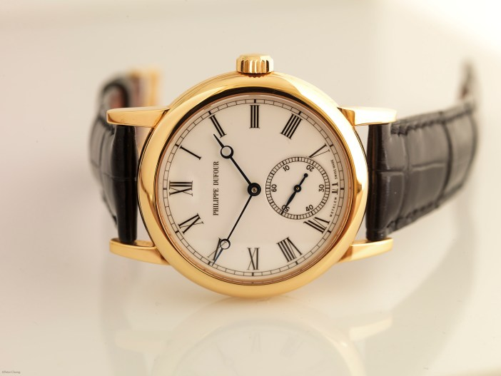 The Philippe Dufour Simplicity. The name probably describes what the entire watch is all about.