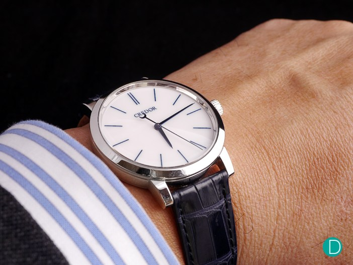 At 39mm, the Eichi II is almost the perfect size.