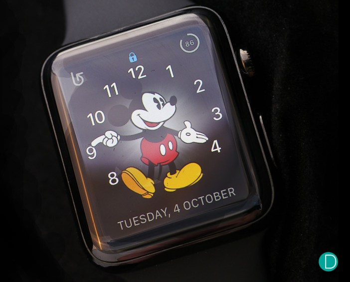 The Apple Watch Series 2 features a brighter display, twice as much as the original version.