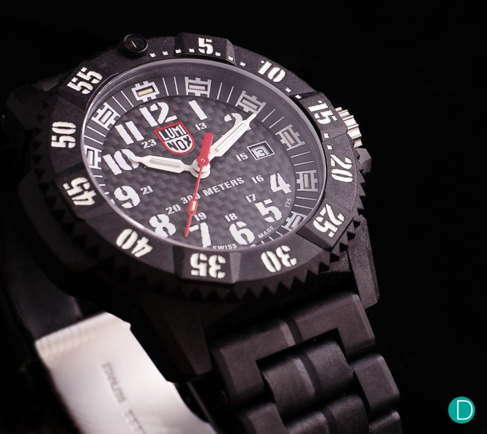 The Luminox Carbon SEAL 3800 series- the 3802 limited to 500 pieces.