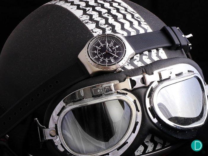 The Sistem51 was made using the first fully-automated mechanical watch manufacturing process.