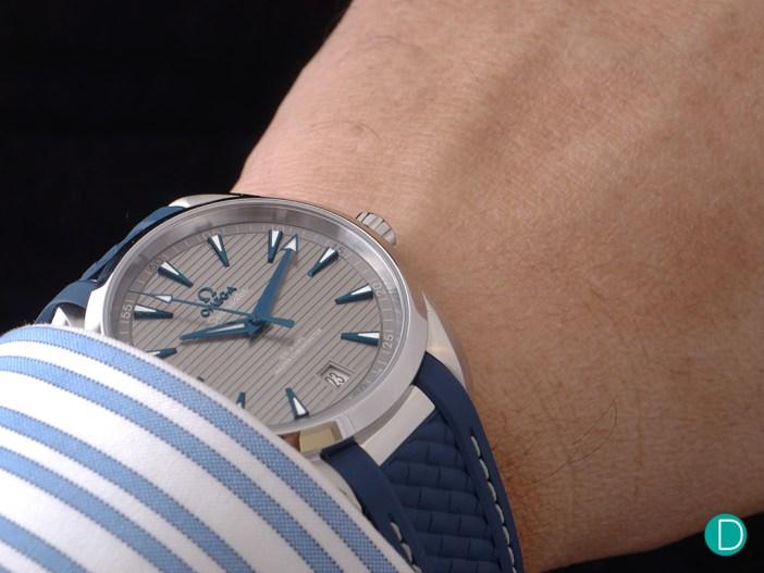 Seamaster Aqua Terra Master Chronometer wrist