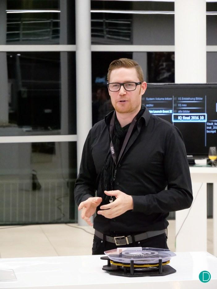 Mark Schwarz CEO VAULT Watches