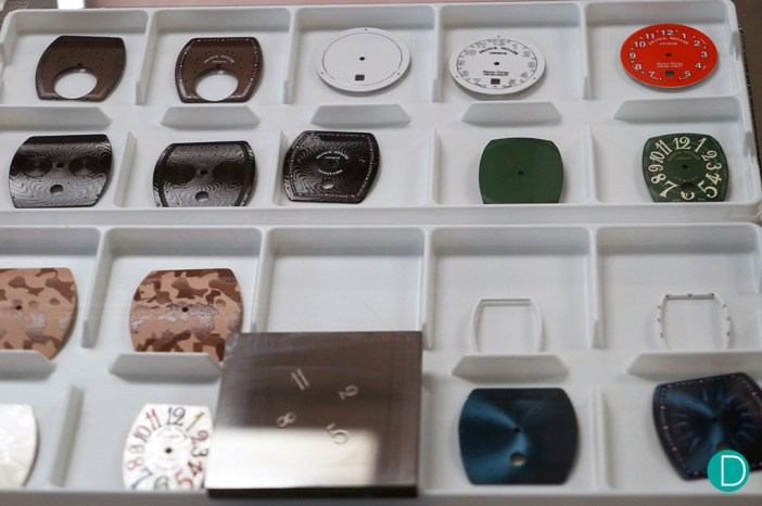 Printed dials - Franck Muller Dial Factory