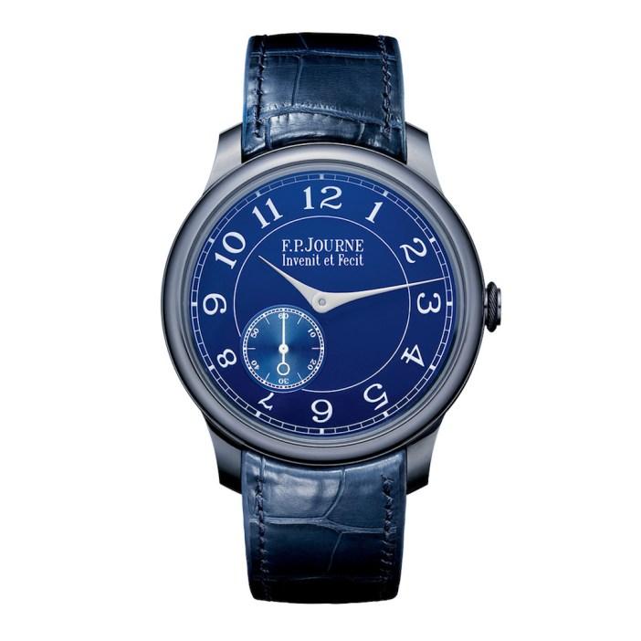 Robert De Niro F.P Journe Chronometre Bleu