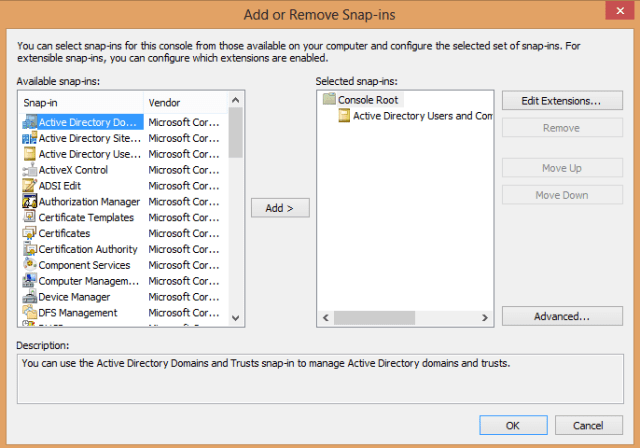 Access Denied Active Directory