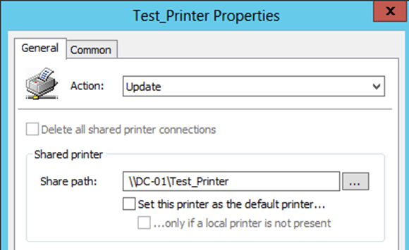 DeployHappiness | Deploying Printers with Group Policy Preferences