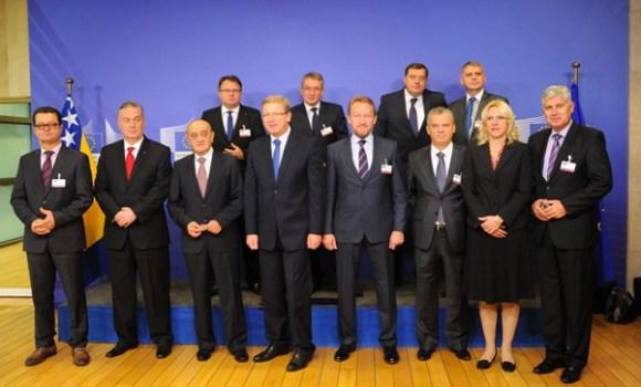 Bh. lideri u Briselu/ Foto: Anadolija